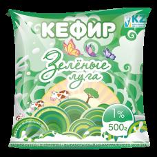 Кефир ф/п 1%, 500г