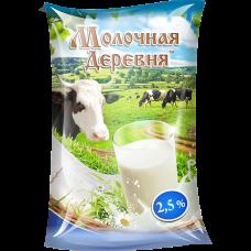 Молоко пастеризованное 2,5%, 1л