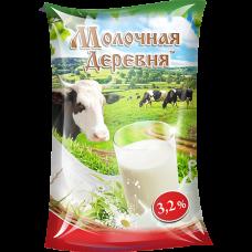 Молоко пастеризованное 3,2%, 1л